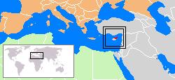 Nordzypern Lage