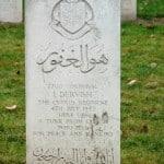 Das Grab des nordzyprischen Präsidentenvaters in Polen