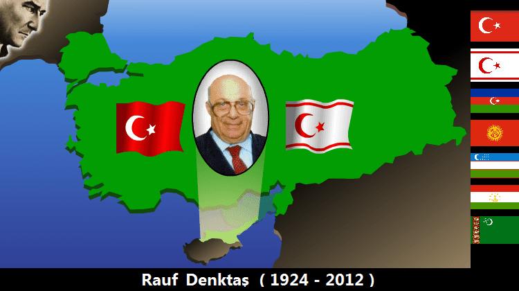 Intro der ehemaligen Webseite von Rauf Denktas